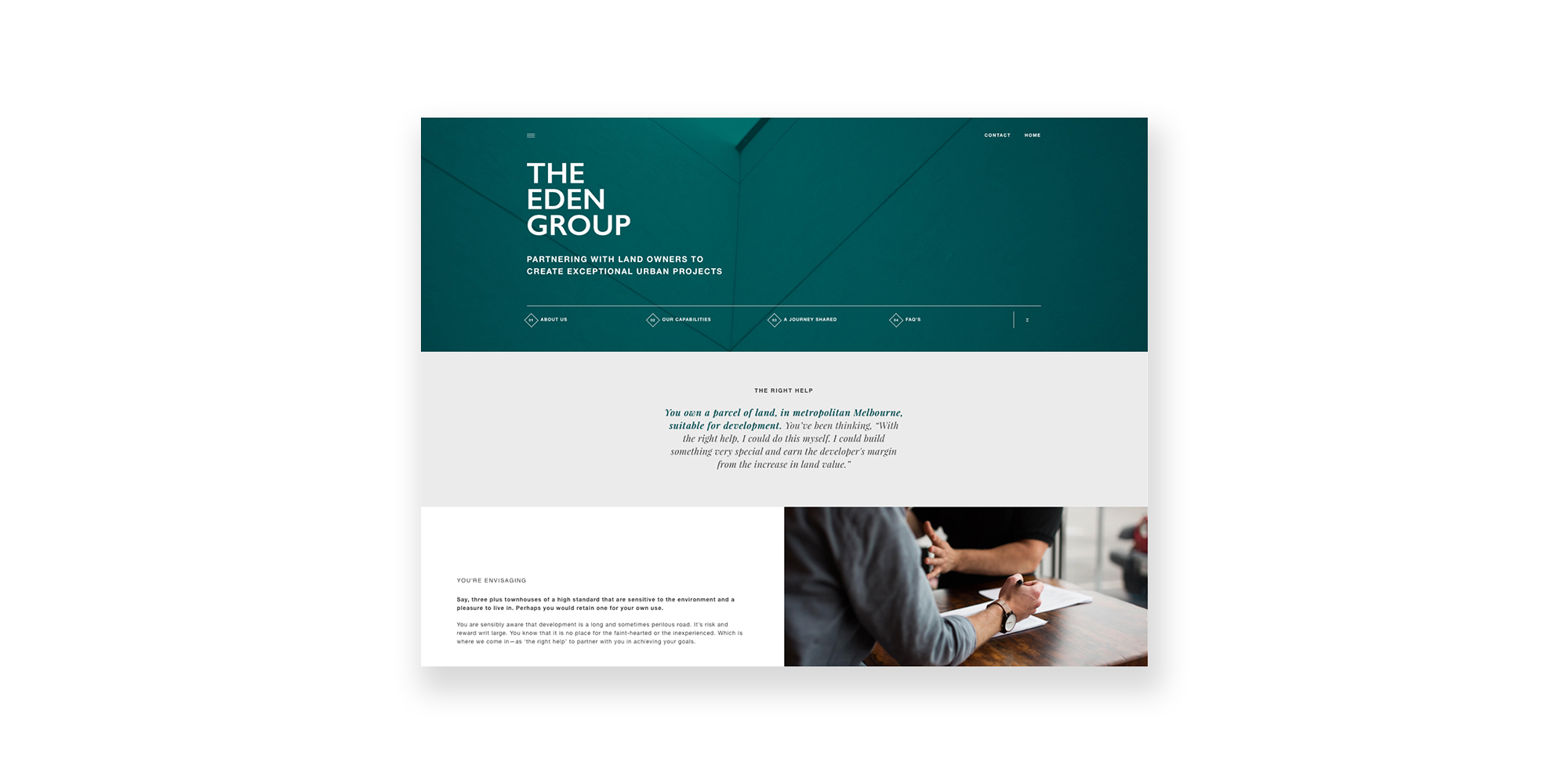 The Eden Group Website