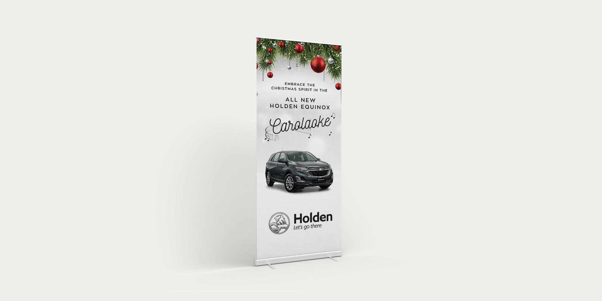 Holden Caraloake Banner