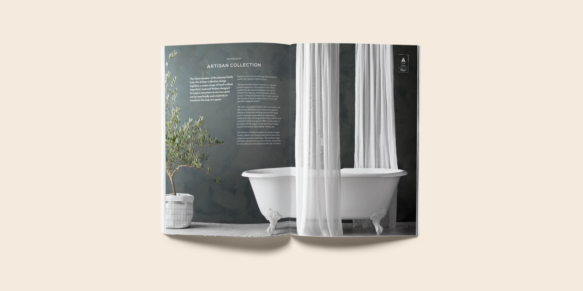 Haymes Artisan Collection Product Manual