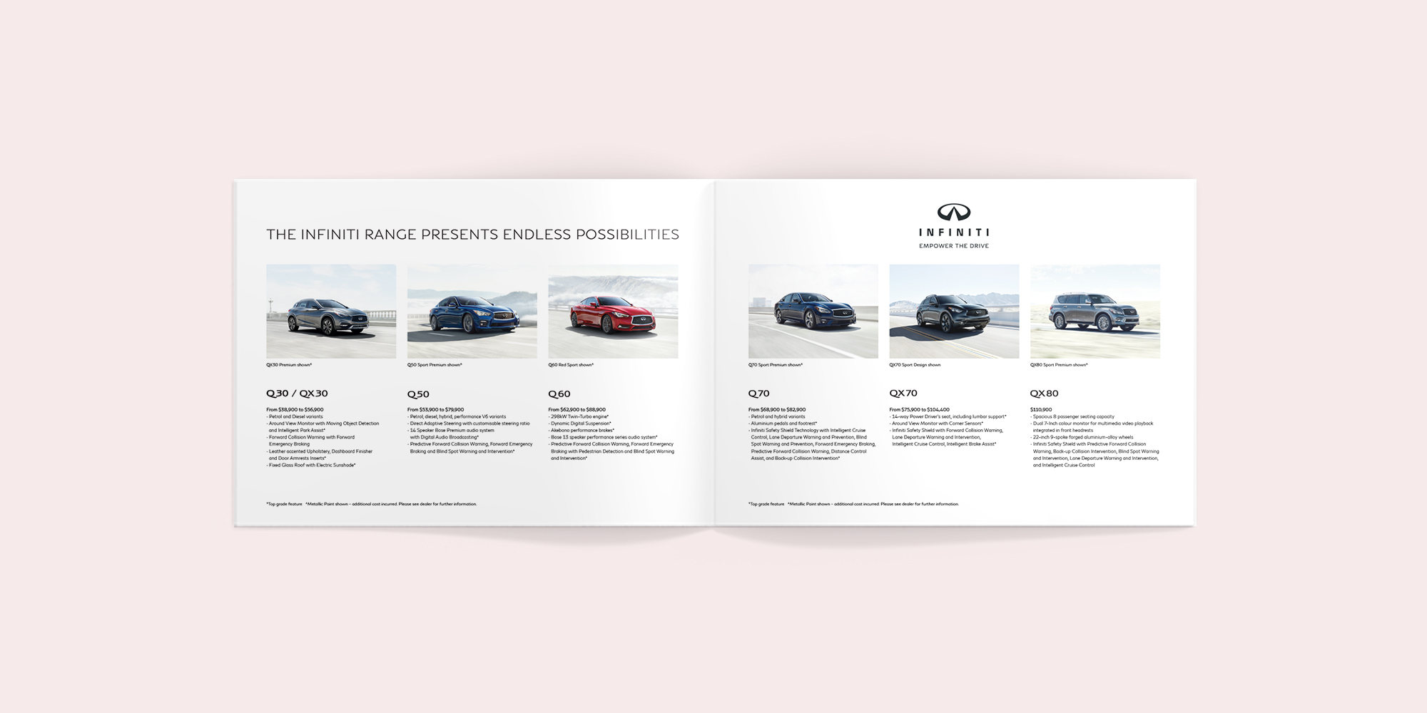 INFINITI Cars Brighton Brochure