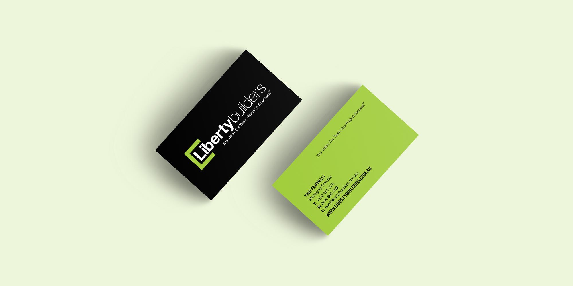 Liberty builders business card ninth street east creative ninth liberty builders business card colourmoves