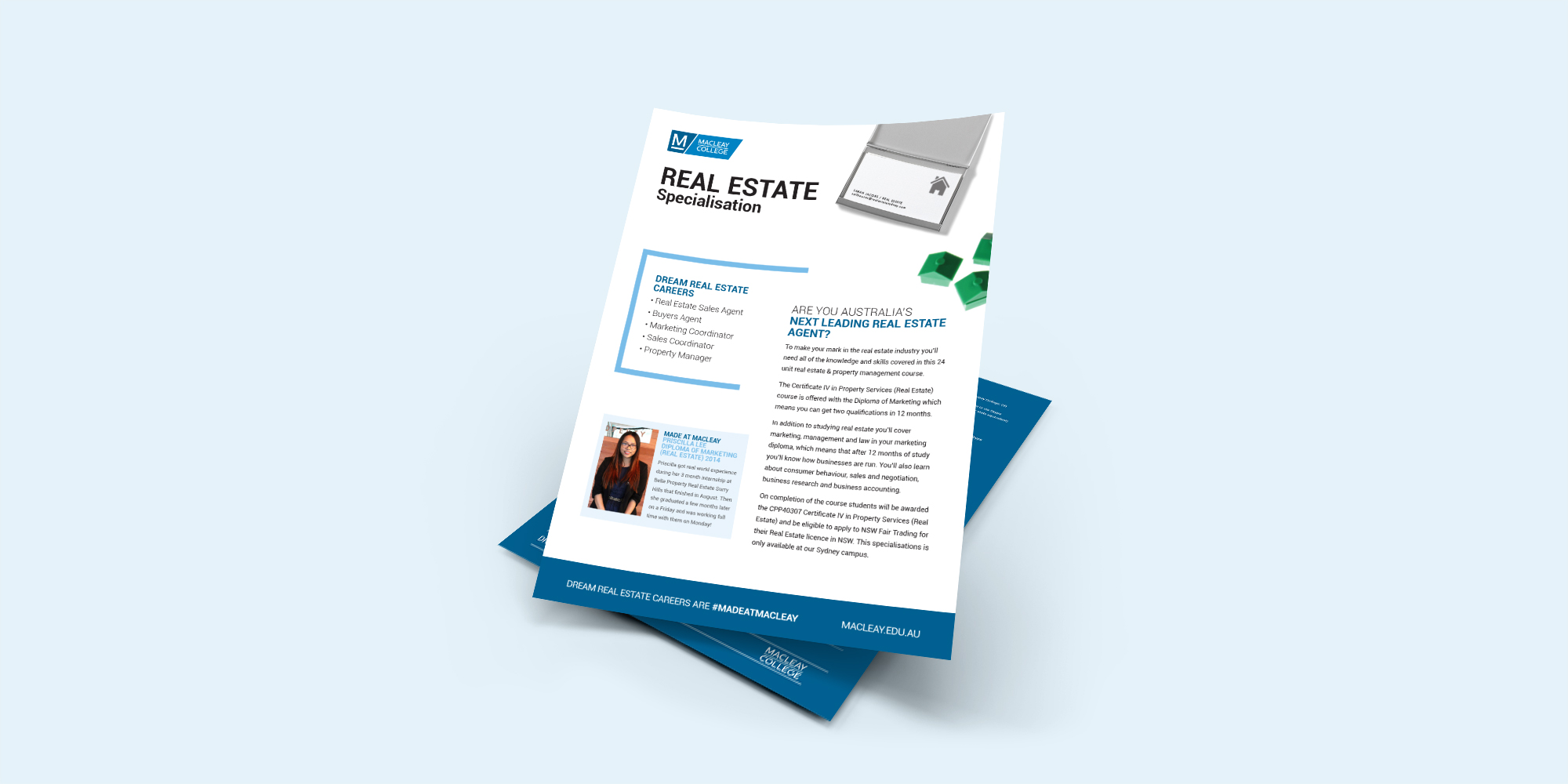 Macleay College Real Estate Flyer