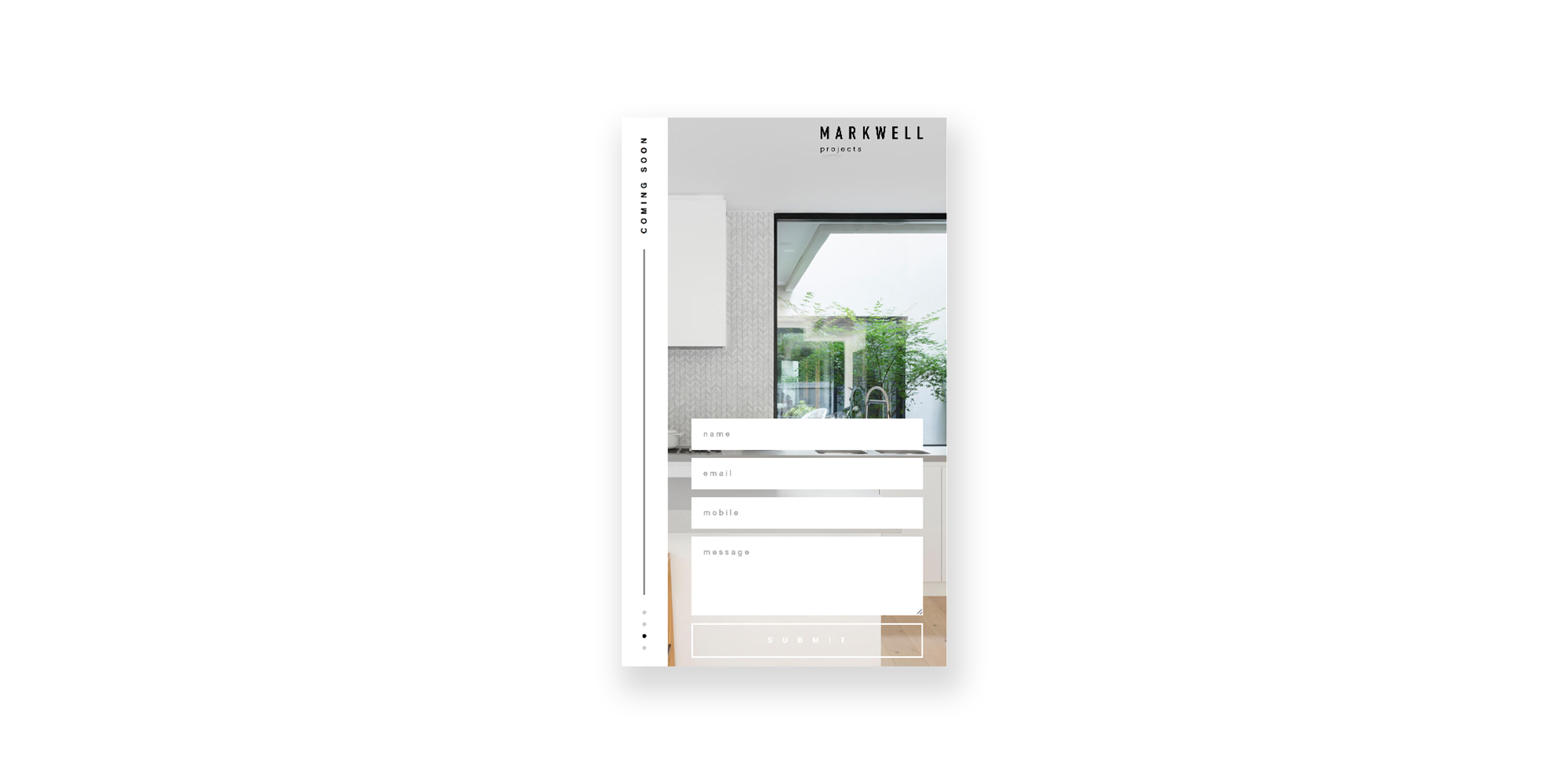 Markwell Projects Website
