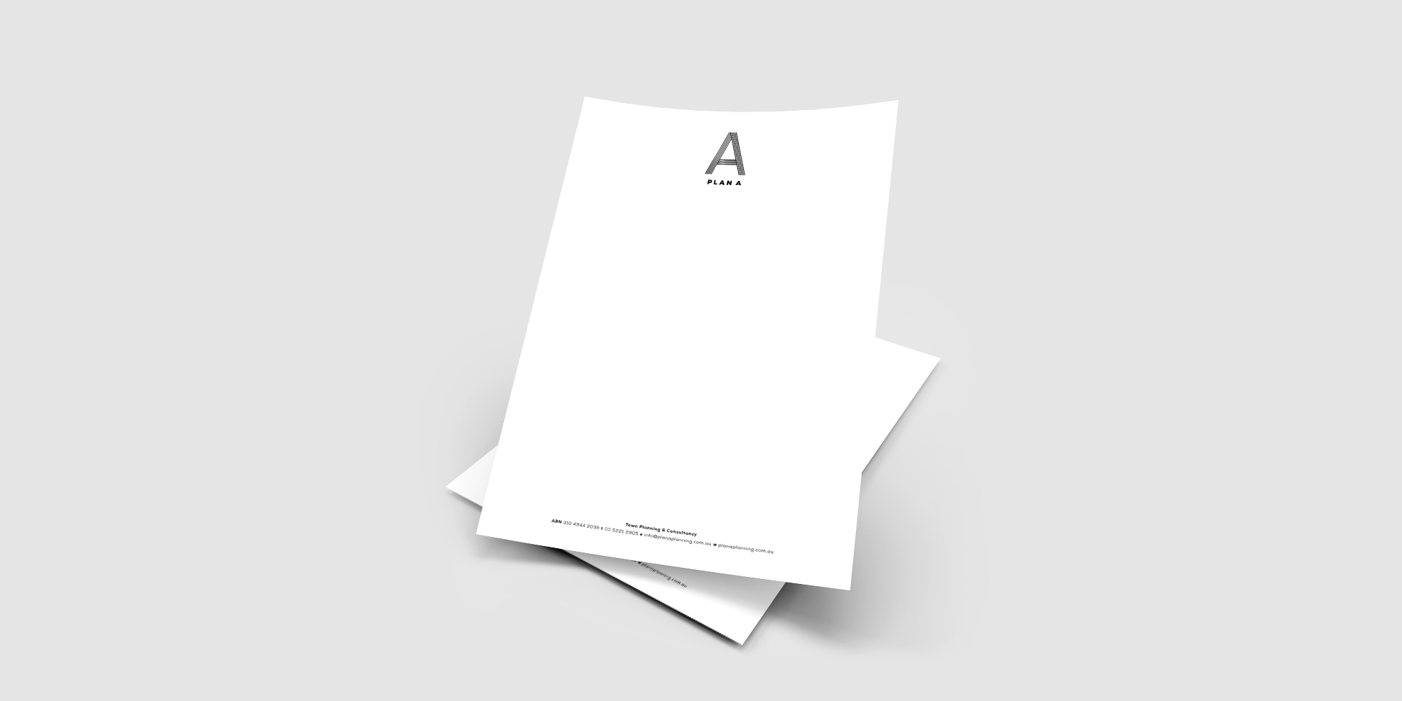 Plan A Planning Letterhead