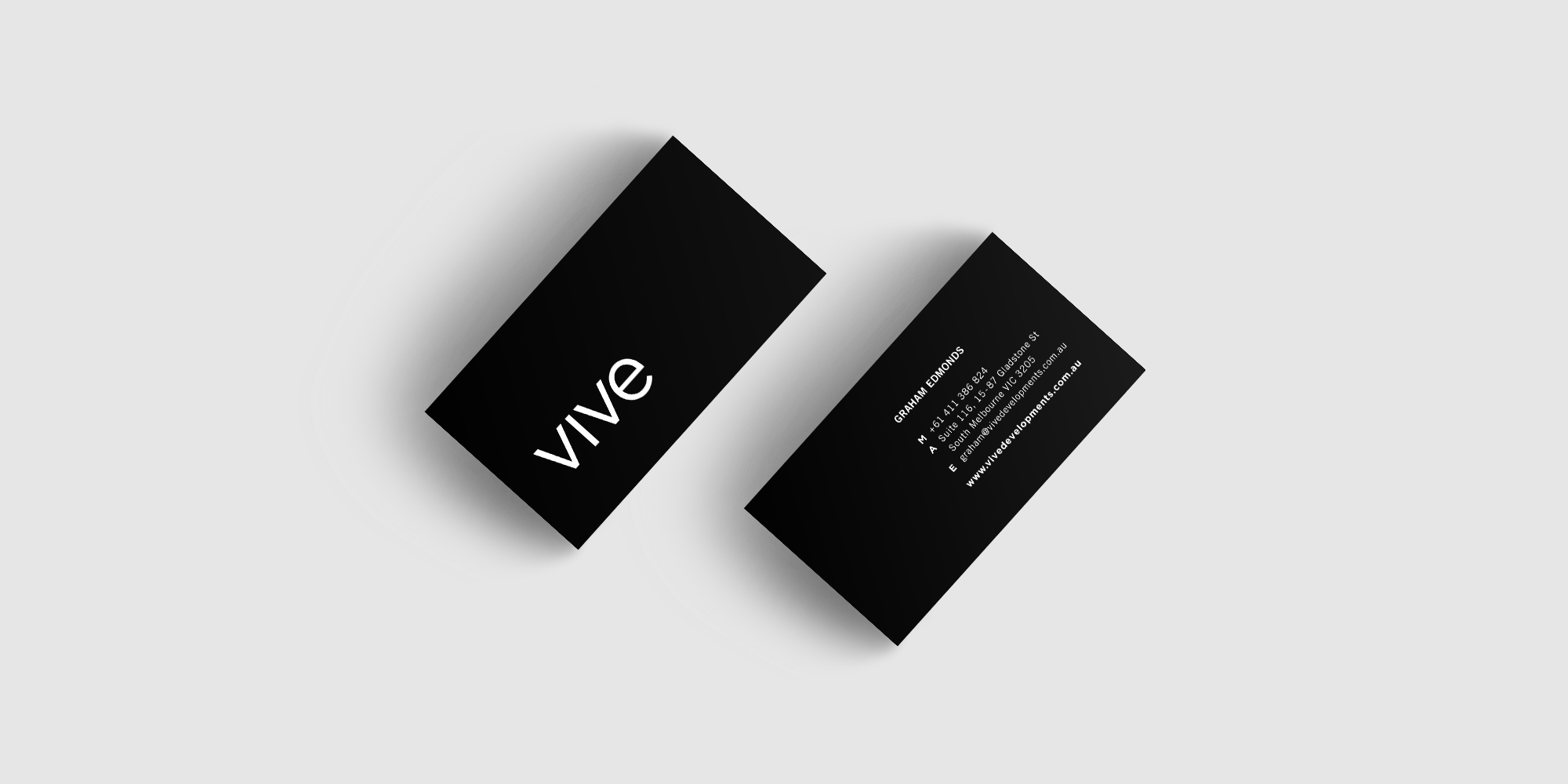 Vive Developments Business Card